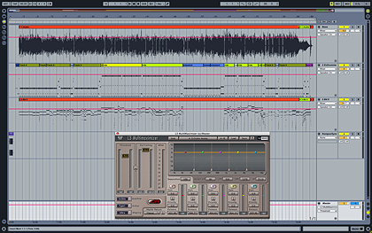 click to see larger version of Ableton Live Arrangement View